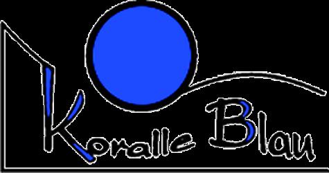 Koralle-Blau